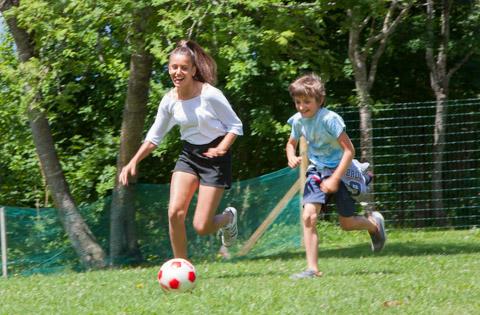 calcio in giardino vacanze asiago