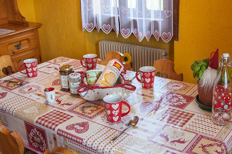 colazione casa vacanze asiago
