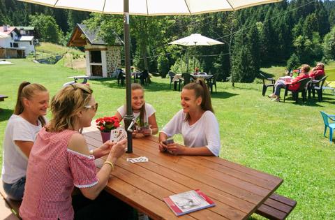 relax e divertimento giardino appartamento asiago