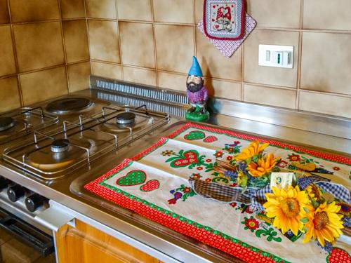 dettagli cucina appartamento